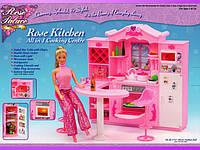 """Мебель для кукол """"Кухня с барной стойкой"""""""