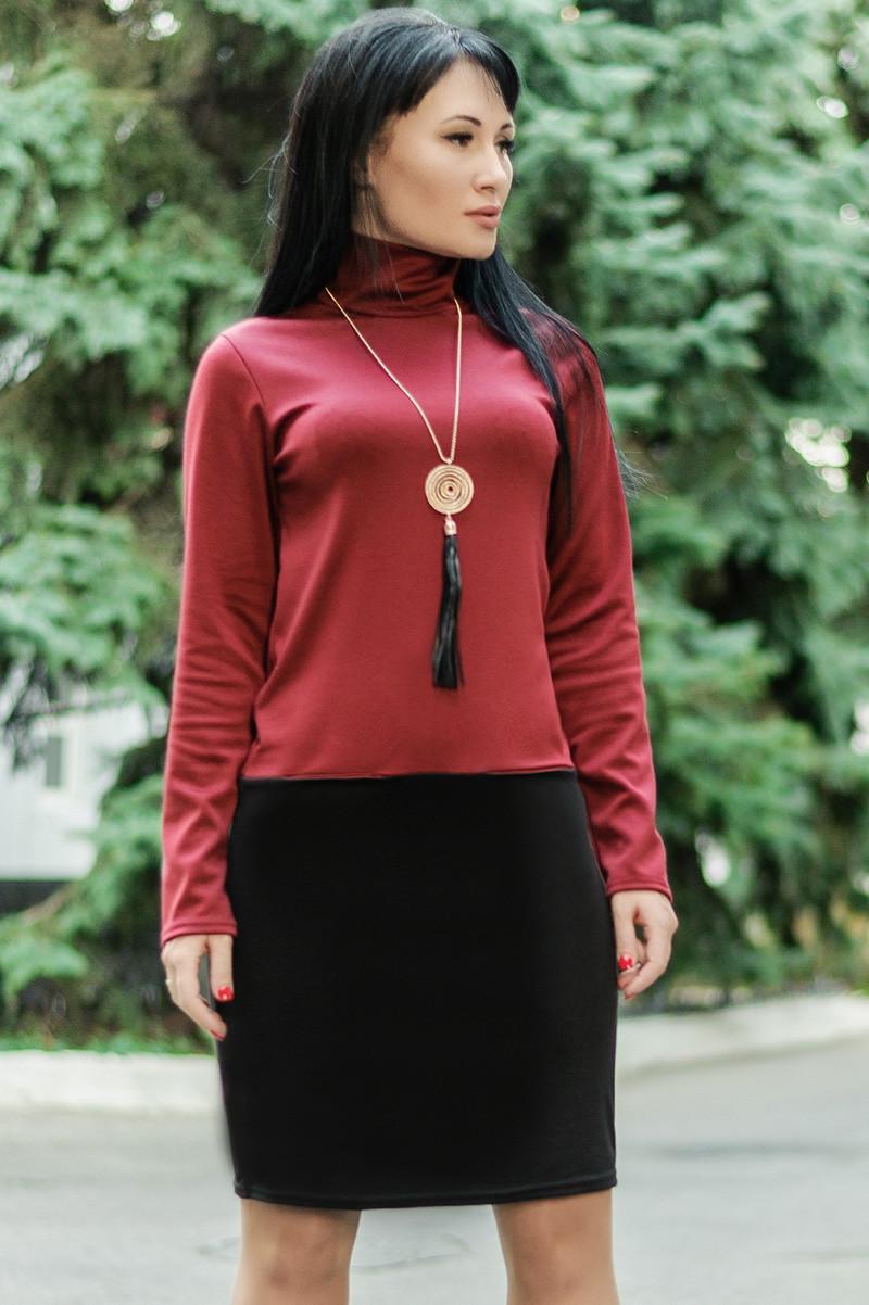 Бордовое платье  -Шопен-
