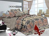 Комплект постельного белья сатин полуторный TM Tag 053