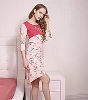 Сорочка(S) хлопковая (платье) для дома, Роксана