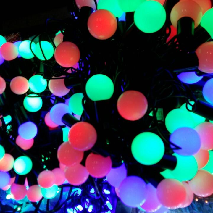 Гирлянды шарики 50 лампочек