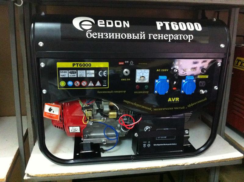 Бензиновый генератор Edon PT 6000