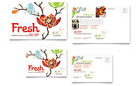 Разработка дизайна открытки