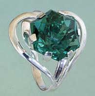 Оптові ціни!!! Срібний перстень з кварцом