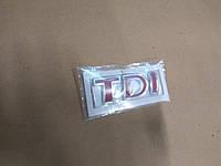 Надпись TDI на Volkswagen
