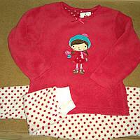 Пижама махровая Primark для девочки , фото 1