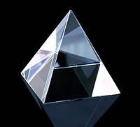 "Пирамида ""хрустальная"" высота 7,8 см"