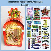 Сладкий новогодний подарок из конфет  вес 430 гр