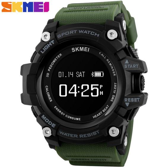 Часы наручные SKMEI 1188 Bluetooth green
