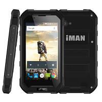 Ударопрочный телефон IMAN X5  2 сим,4,5 дюйма,4 ядра,8 Гб,5 Мп,3000 мА/ч,IP67.
