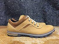 Мужские туфли из натуральной кожи Gest 7/1 camel