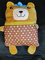 Дитячий рюкзак-іграшка з покривалом., фото 1