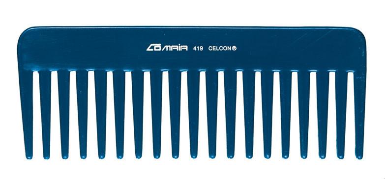 Comair Расческа-гребень для распрямления волос 419 Blue line