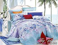 Комплект постельного белья сатин полуторный TM Tag 066