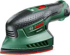 Виброшлифмашина аккумуляторная Bosch PSM 10,8 LI (2 А/ч)