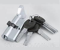 Цилиндр латунный NК 70 (35*35) ключ/поворотник  англ. PB