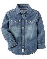 Джинсовая рубашка для мальчика Carters (США)