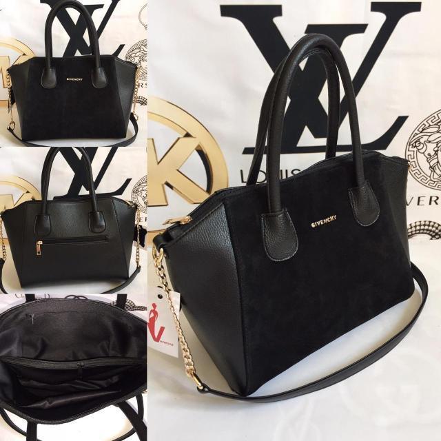 8bb9c2e688bb Женская замшевая сумка Givenchy, чёрная Живанши, цена 645 грн ...