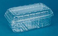 Контейнеры 250 гр совмещенный с крышкой прозрачный