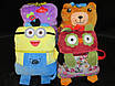 Велюровое детское покрывало в сумке -игрушке, фото 6