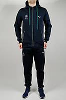 Зимний спортивный костюм PUMA AMG Mercedes 21487 темно-синий