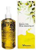 Гидрофильное масло с натуральным маслом оливыElizavecca Natural 90% Olive Cleansing Oil 300ml