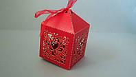 """Бонбоньерка """"сердце"""" коробка упаковочная (код 03145)"""