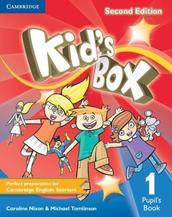 Kid's Box 2nd Edition 1 PB (учебник)