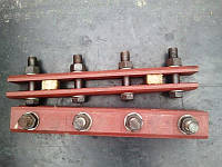 Накладка стыковая кранового рельса КР70, КР80