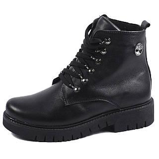 Женские ботинки Timberland зима 2017 чёрные black (36-39) (реплика ... 127d97f94d1
