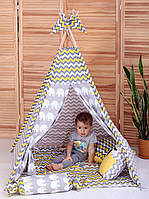 Детская палатка комплект Бонбон Египет с карманом