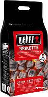 Уголные брикеты, 4 кг (17590)   Weber