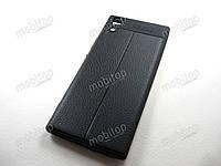 TPU чехол Auto Focus Sony Xperia XA1 G3116 G3112 (черный)