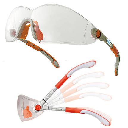 Очки защитные слесарные ЕВРО (прозрачные), фото 2