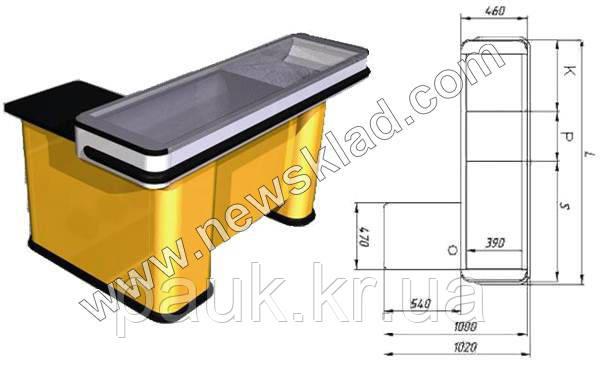 Касовий бокс без транспортера з вузьким накопичувачем Mini 2040, фото 1