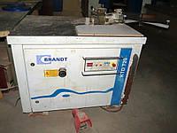 Кромкооблицовочный станок б у Brandt KTD720 для прямых и криволинейных деталей, 2005г.