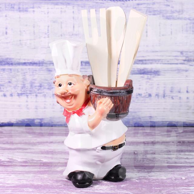 подставка для приборов повар