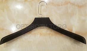 Вешалка-плечики костюмная черная