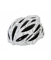 Шлем Green Cycle Alleycat серо-белый