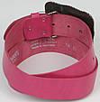 Женский кожаный ремень Vanzetti, Германия, 100048 розовый, 4х102 см, фото 3