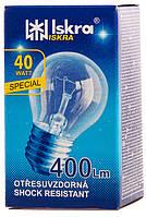 ДШ 40\Е27 Лампа шар в индивидуальной упаковке Искра