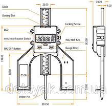 Электронный индикатор IGM модель MDH-001, фото 3