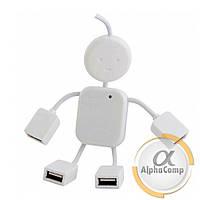 Хаб 4-портовый USB (человечек)