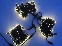 Гирлянда для деревьев уличная LED 450 Клип лайт Белый теплый , 3 разветвления