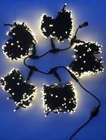 Гирлянда для деревьев уличная LED 750 Клип лайт Белый теплый , 3 разветвления