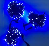 Гирлянда уличная для деревьев LED 450 Клип лайт Синяя , 3 разветвления