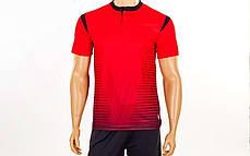Футбольна форма Brill CO-16004-R (PL, р-р S-2XL, червоний, шорти чорні), фото 2