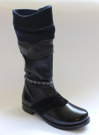 Детские зимние кожаные сапоги (Украина) 33 d35f781102732