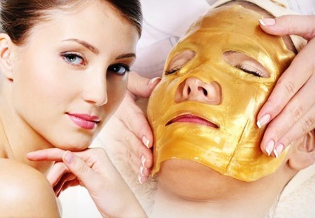 Золотая маска для лица с коллагеном. Gold Bio-collagen Facial Mask