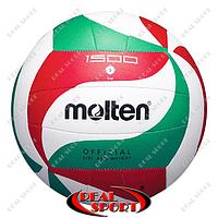 Мяч волейбольный Molten V5M1500 (PU, №5, 5 слоев, сшит вручную)